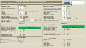 5 Bảng tính thiết kệ điện năng lượng mặt trời 22 8 12