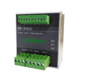 Bộ đọc 2 kênh Loadcell độ chính xác cao 24bit truyền thông rs485 RW ST02D đầu cân 2 kênh RW ST02D 4
