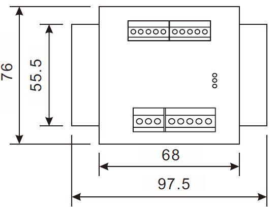 Bộ đọc 2 kênh Loadcell độ chính xác cao 24bit truyền thông rs485 RW ST02D đầu cân 2 kênh RW ST02D 6