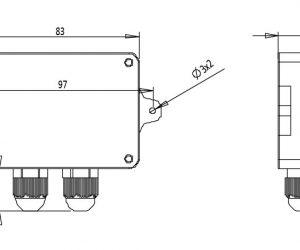 Bộ chuyển đổi tín hiệu đầu cân Loadcell sang analog 4 20mA 0 10V 0 5V RW ST01A 4