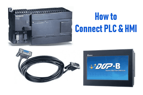 Connect plc hmi communication