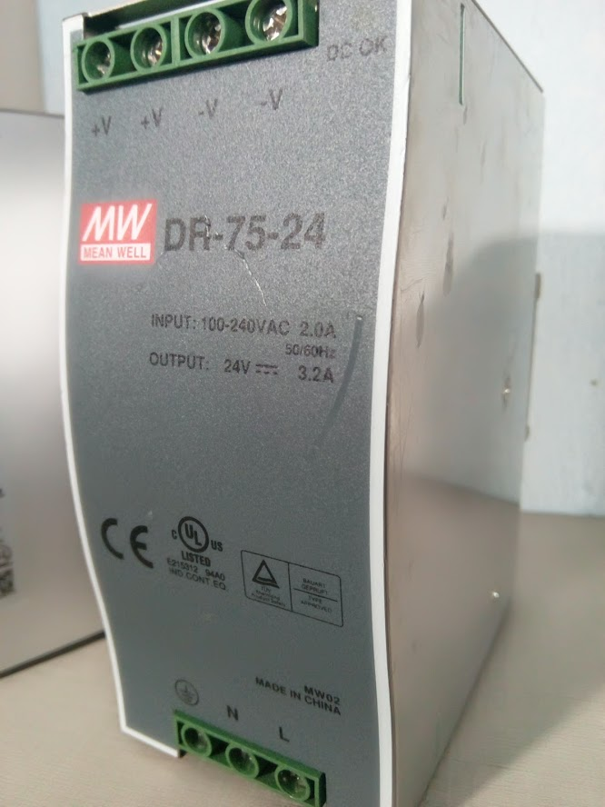 meanwell 3.2A 3 dr 75 24