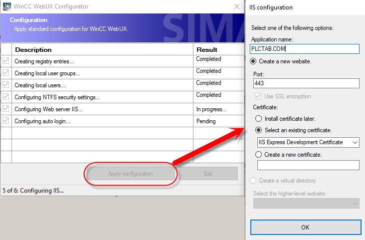 SCADA WebUX Configuration manager 3 1