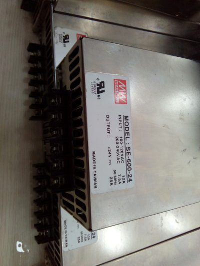 SE 600 24 MEANWELL 25A 4
